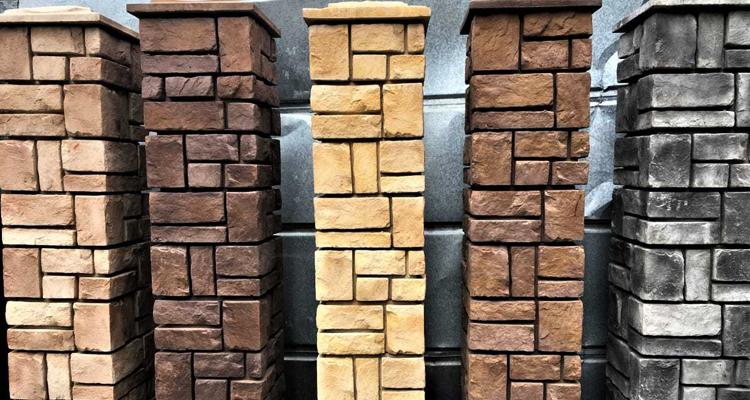 Изготовление декоративных заборных блоков в Ижевске